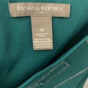 Banana Republic Tops - Rattle Teal Top